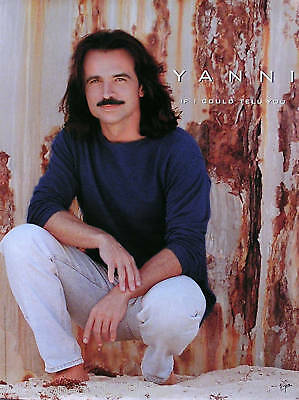 Yanni 2000 If I Could Tell You Original Promo Poster
