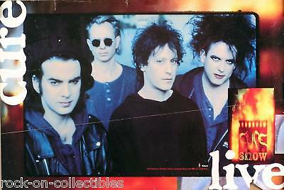 The Cure 1993 Live Promo Poster