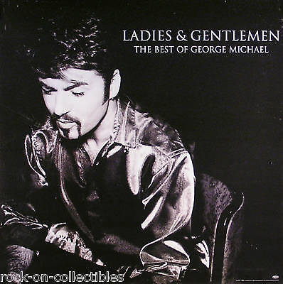 Wham! George Michael 94 Ladies & Gentlemen U.k. Poster