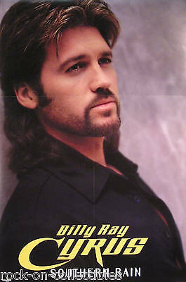 Billy Ray Cyrus 2000 Southern Rain 2-Sided Promo Poster