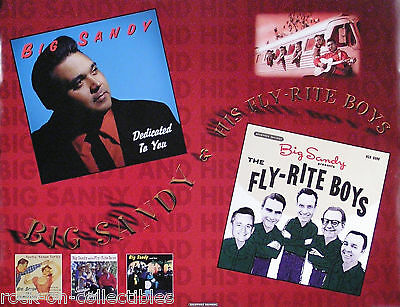 Big Sandy & Fly-Rite Boys 1996 Dedicated To You Poster