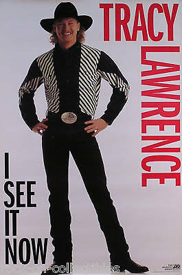 Tracy Lawrence 1994 I See It Now Promo Poster Original