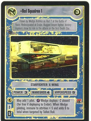 Star Wars CCG Reflections II Foil Red Squadron 1