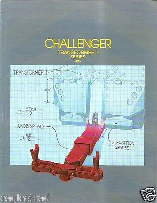 Tow Truck Brochure - Challenger - Transformer I Under Lift Recovery Unit (TB555)