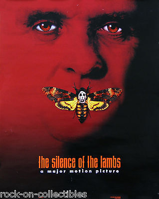 Silence of The Lambs Movie 1990 Anthony Hopkins Original  Poster Jodie Foster