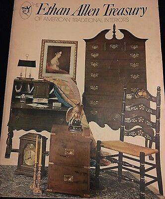Ethan Allen Treasury Furniture Interiors Catalog 72nd Ed Collectors Guide