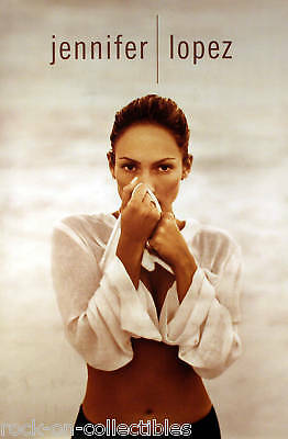 Jennifer Lopez At The Beach Promo Poster Original