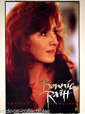 Bonnie Raitt 1994 Longing In Their Hearts Promo Poster Original