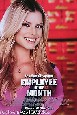 Jessica Simpson 2006 Employee Of The Month Movie Poster Original