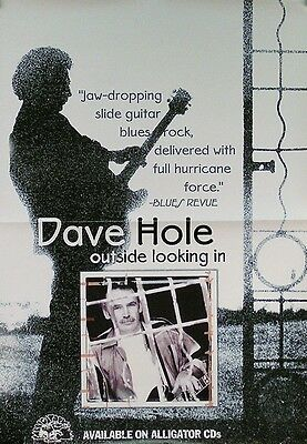 Dave Hole 2001 Outside Looking In Original Promo Poster