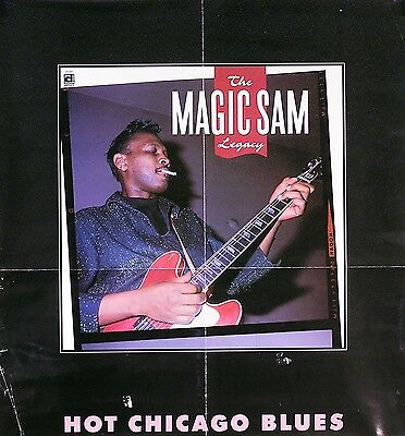Magic Sam 1997 Hot Chicago Blues Original Promo Poster