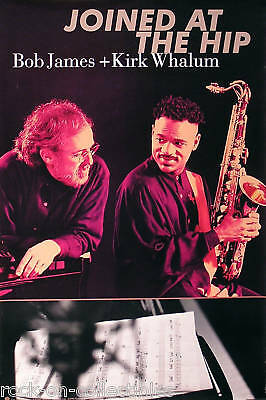 Kirk Whalum Bob James 96 Joined At The Hip Promo Poster Original