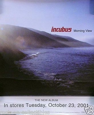 Incubus 2001 Morning View Original Promotional Window Decal