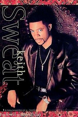 Keith Sweat 1996 Self Titled Promo Poster