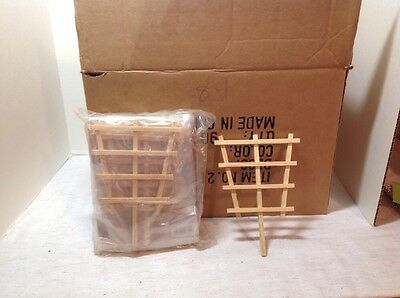 Case Of 84 Mangelsen's Wood Craft Garden Trellis Nip Unopened 265-29