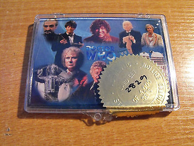Doctor Who The Definitve Collection Series 1 10 Card Promo Set