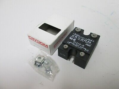 New Crydom D1210-B Solid State Relay, Control: 3-32VDC, Contacts: 120VAC 10A