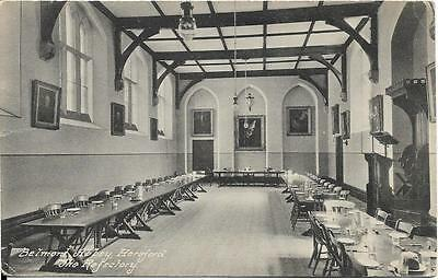 HEREFORD, BELMONT ABBEY, The Refectory, Herefordshire, old postcard