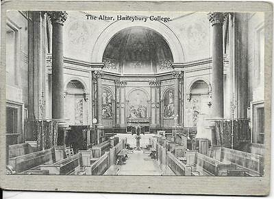 HAILEYBURY COLLEGE, The Altar,, Buckinghamshire, old postcard