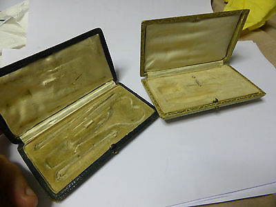 Antique French Sewing  Case,box- empty- 2pc