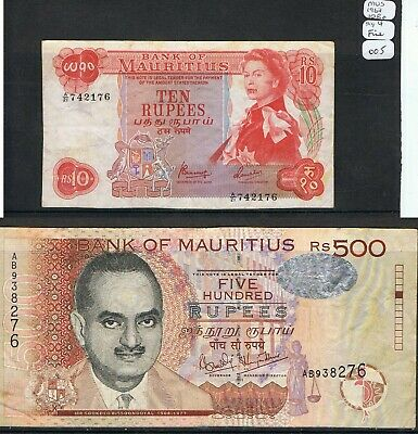 MAURITIUS Banknotes. Choice of Notes Discounts up to 25% available