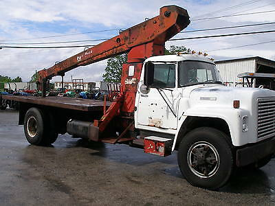 1978  International 1800   5 Ton  Boom Truck