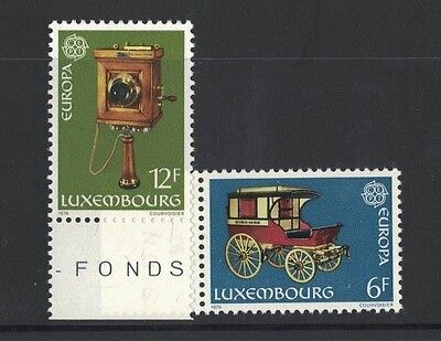 1979 Luxembourg Europa Series SG 1024/5 muh set of 2