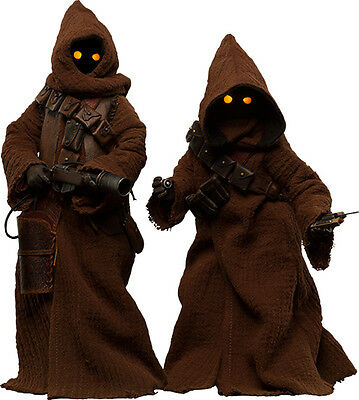 STAR WARS - Jawa 1/6th Scale Action Figure Set (Sideshow Collectables) #NEW