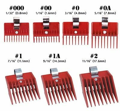 SPEED O GUIDE Universal Clipper Comb Attachments Fits to Wahl Oster Andis Brand