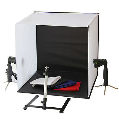 50cm Portable Camera Photo Studio Tent Kit Lighting Cube Light Tripod Soft Box