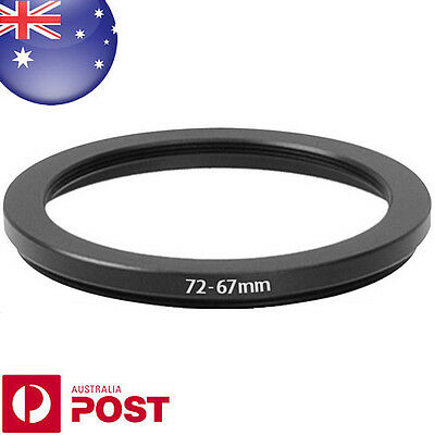 New 72-67mm 72mm - 67mm Metal Step Down Lens Filter Ring Adapter - Z384