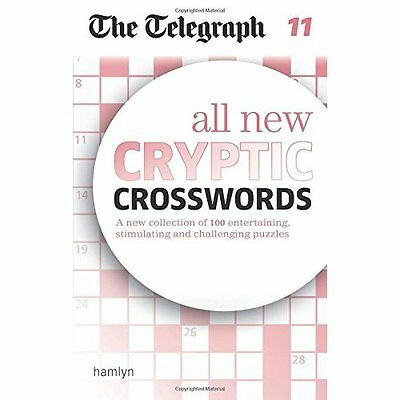 The Telegraph: All New Cryptic Crosswords 11 (The Teleg - Paperback NEW GROUP, T