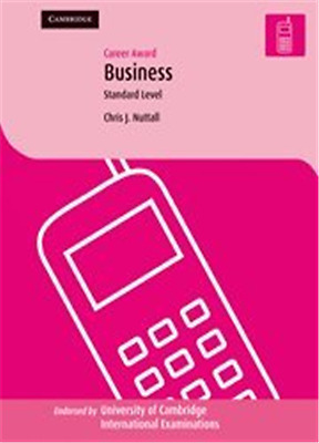 Career Award in Business: Standard Level (Cambridge Int - Paperback NEW Nuttall,