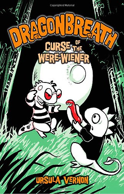 Dragonbreath: Curse of the Were-wiener - Hardcover NEW Ursula Vernon 2010-09-16
