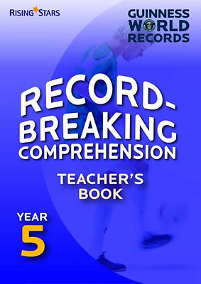 Record Breaking Comprehension: Teacher's Book Year 5 (G - Paperback NEW Various
