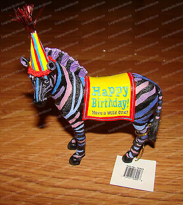 Have a Wild ONe (Happy Birthday by Westland Giftware, 16929) Zebra Cake Topper