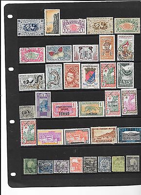 French Colonies m/mint and fine used collection all periods