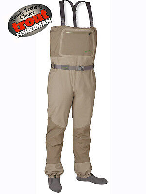 Orvis NEW Silver Sonic Waterproof Breathable Fly Fishing Stocking Foot Waders