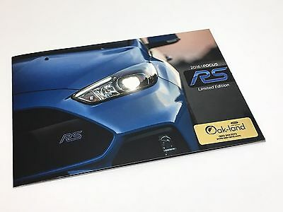 2016 Ford Focus RS EcoBoost 2.3L Brochure