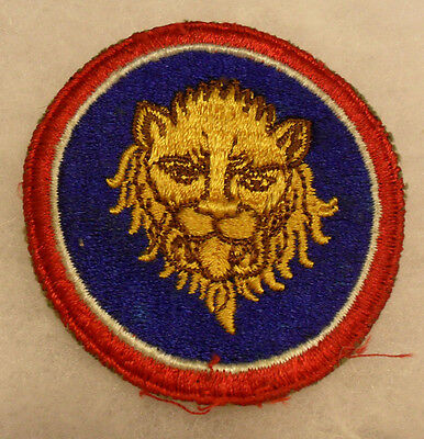 Wwii 106Th Inf Div Lion Of St. Vith. Unit Destroyed At Battle Of Bulge  Off Coat