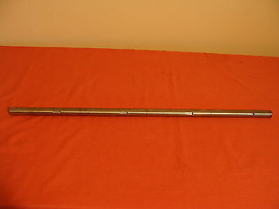 New Old Stock Unkown Mfg. Polished Shaft: 22Mm Diameter 656 Mm Long