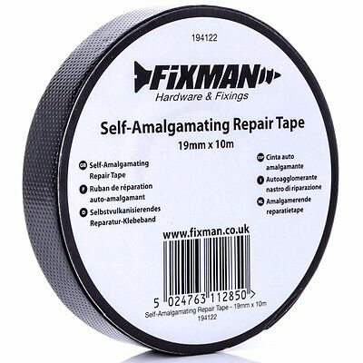 STRONG WATERPROOF SELF-AMALGAMATING REPAIR TAPE Wire Cover Electrical Insulator