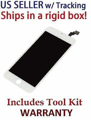 For iPhone 6 4.7 White Replacement OEM LCD Display + Touch Digitizer Assembly