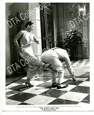 LEMON DROP KID 8x10 PROMO STILL-VG-1950-BOB HOPE GETTING KICKED IN THE REAR VG