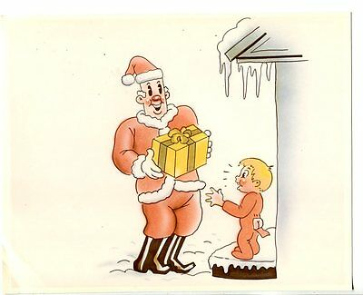 CHRISTMAS COMES BUT ONCE A YEAR-8 X 10 STILL-ANIMATED-PROFESSOR GRAMPY-vg