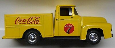 1/24 Ertl Die Cast 1956 Ford Coca-Cola (Coke) Truck Bank w/key