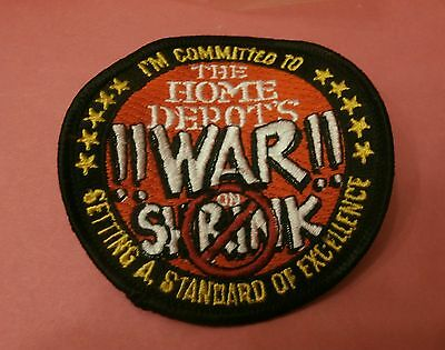 I'm Committed to Setting a Standard of Excellence Home Depot War on..  New Patch