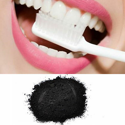 40g 100% Natural Organic Activated Charcoal Teeth Whitening Powder NEW