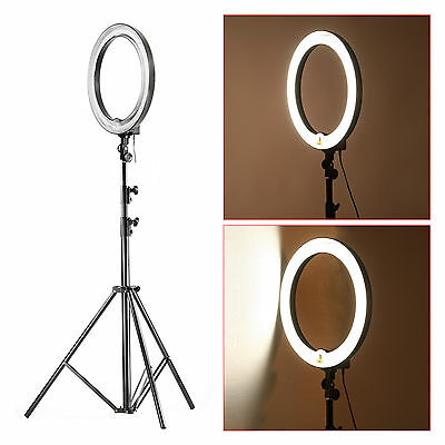 "Neewer Camera Photo/Video Ring Flash Light Kit:14"" Flash Light+103"" Light Stand"