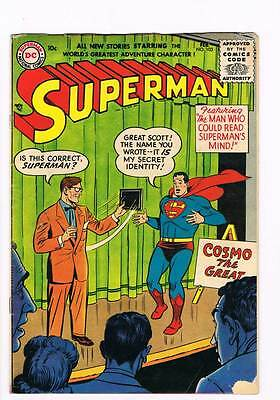 Superman # 103 The Superman of Yesterday !  grade 3.5 scarce book !!